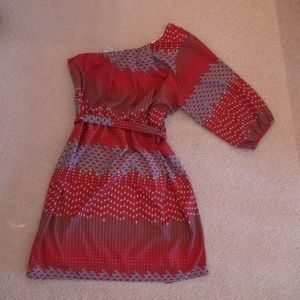 NWOT Needle and Thread One Shoulder Dress